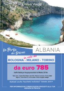 EVVIVA VIAGGI - ALBANIA DAL NORD ITALIA