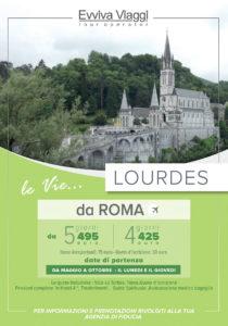 EVVIVA VIAGGI - LOURDES DA ROMA