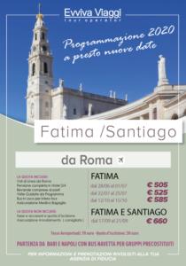 FATIMA E SANTIAGO DA ROMA - Evviva Viaggi