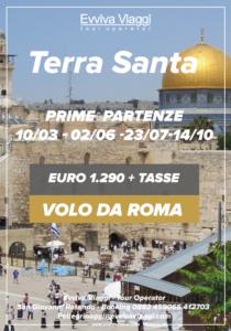 TERRA SANTA DA ROMA - Evviva Viaggi