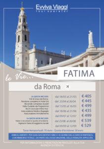 FATIMA DA ROMA - Evviva Viaggi